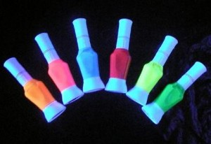 Vernis à ongles flurorescent