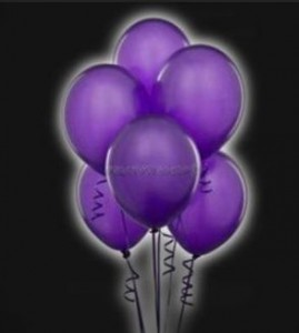 ballons fluos