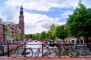 Art psychédélique à Amsterdam