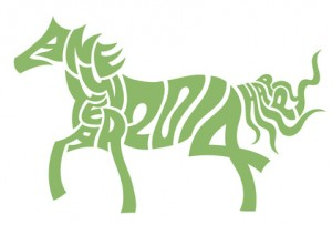 umière noire cheval