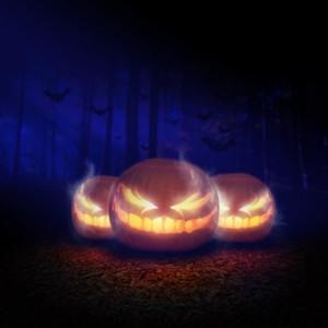 peinture fluo Halloween