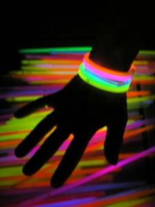 soirée fluo bracelets